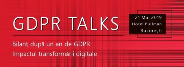 Banner GDPR Talks
